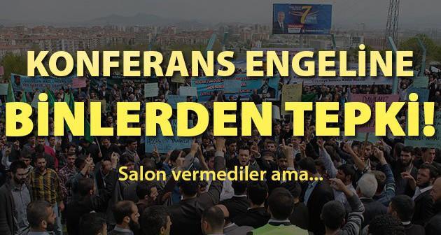 Öncü Nesil Zulme Karşı Meydanlarda | CHP Zulmüne Karşı Ankara Mitingi