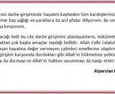 Alparslan Kuytul Hocaefendi'den başsağlığı mesajı